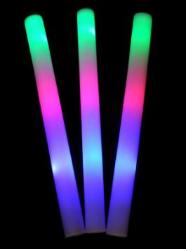 מקל ספוג אורות