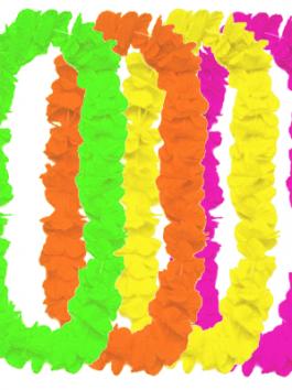 שרשרת הוואי צבע אחד