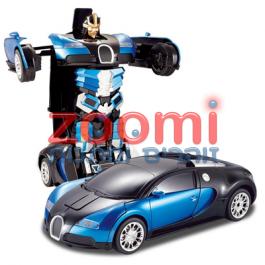 מכונית רובוט ספורט בוגאטי עם שלט 1:12