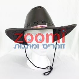 כובע קאובוי דמוי עור