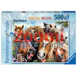 פאזל סלפי סוסים – 500 חלקים