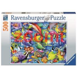 פאזל דגים צבעוניים – 500 חלקים
