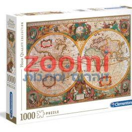 פאזל מפת עולם עתיקה – 1000 חלקים