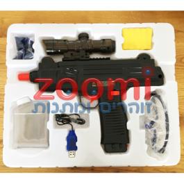 מיני עוזי – רובה כדורי ג'לי באוטומט