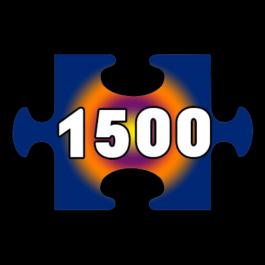 פאזלים 1500 חלקים