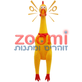 תרנגול גומי מצפצף