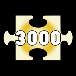 פאזלים 3000 חלקים