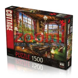 פאזל בקתה אלפינית – 1500 חלקים