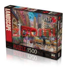 פאזל NYC השדרה החמישית  – 1500 חלקים