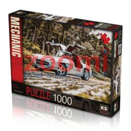 פאזל מרצדס – 1000 חלקים