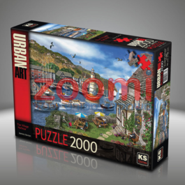 פאזל כפר בנמל  – 2000 חלקים